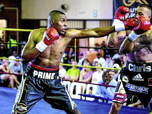 Akani 'Prime' Phuzi and Chris 'The Wolf' Thompson will decide the Gauteng cruiserweight title this weekend.