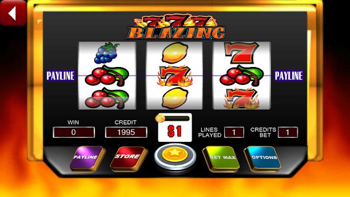 Flaming Hot Slots - Triple 7s - screenshot