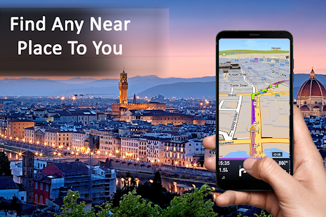 Free waze ,GPS Traffic Maps - náhled