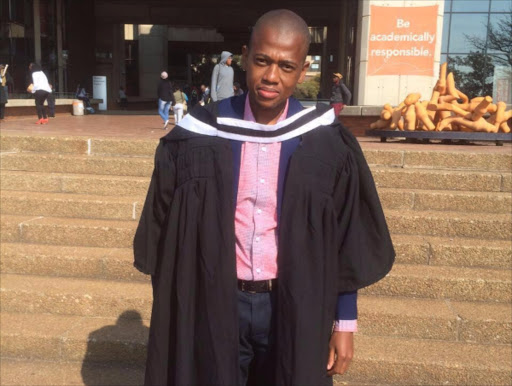 David Lekomanyane is the first in his family to go to university. He completed his B Tech in mining engineering at the University of Johannesburg in 2015.