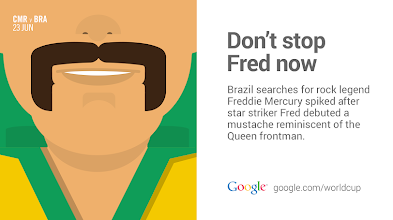 Photo: Don't stop Fred now #GoogleTrends