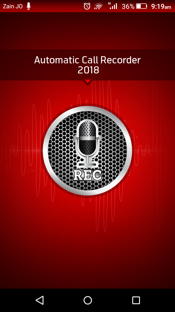 Automatic Call Recorder Pro 2019 - ACR Tool.(GOLD) Screenshot 0