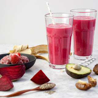 Heart Beet Smoothie.