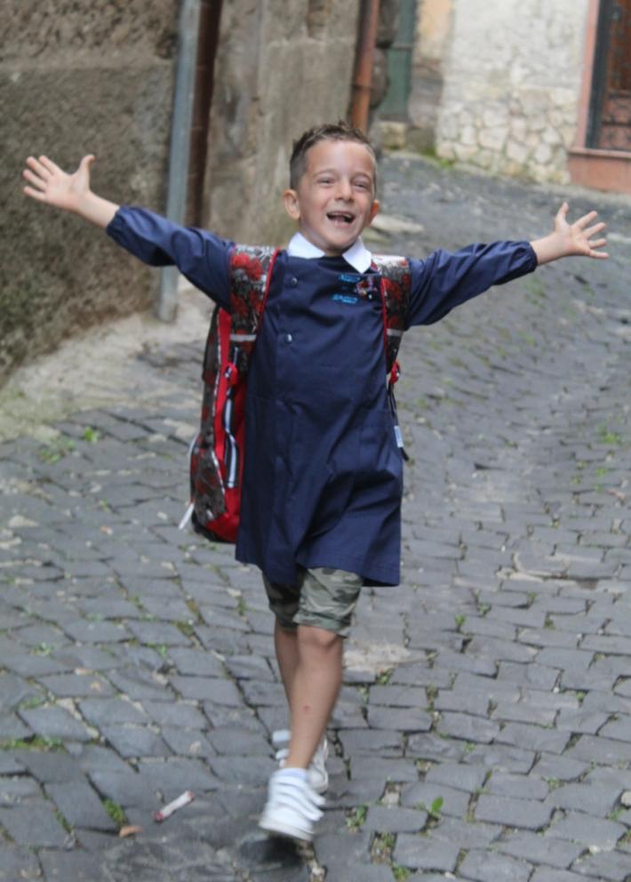 A scuola dopo sette mesi di Rita84