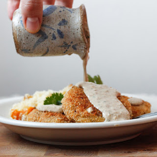 Vegetarian Bastilles, Kolduny, Or Vegetarian Stuffed Potato Patties With A Mushroom Filling.