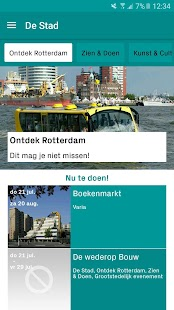 Rotterdam Tourist Info app - náhled