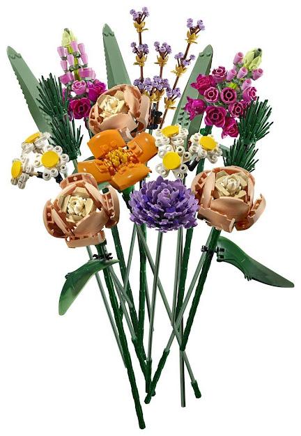 Contenido de Lego® 10280 Ramo de Flores