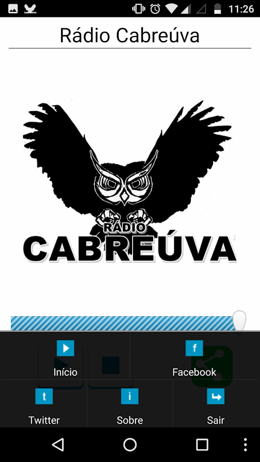 Rádio Cabreúva- screenshot