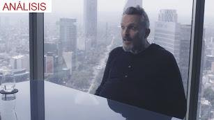 Miguel Bosé, durante la entrevista con Jordi Évole en La Sexta.