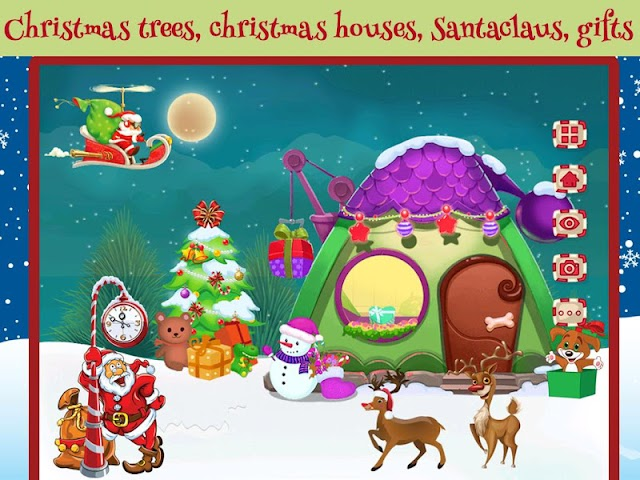 android Chrismas Scene Maker Screenshot 2