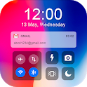 iNotify, Screen lock and Control Center icon