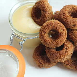 Gingerbread Mini Donuts and Brown Butter Sauce