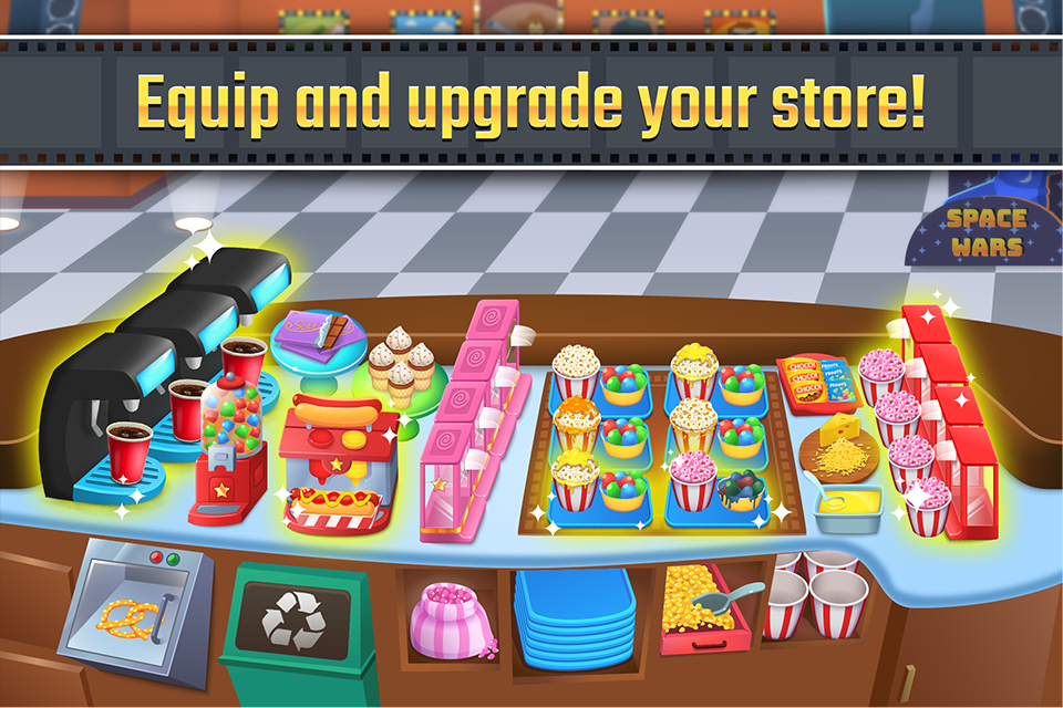 My Cine Treats Shop - Your Own Movie Snacks Place- screenshot