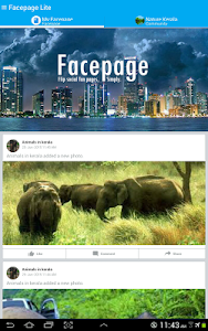 Facepage Lite screenshot 7