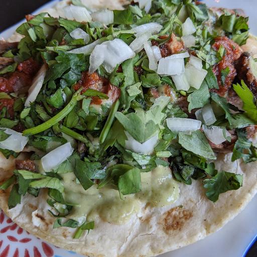 Tacos De Carne Asada (2 Tacos)