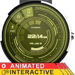 Futuristic GUI Watch Face Icon