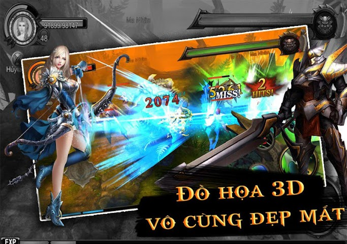 android MU Thien Dia 3D Screenshot 1