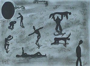 """Photo: Lost In a Lost World9"""" x 12""""2005 - 2007Pen & Ink on paper"""