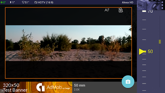 Magic ARRI ViewFinder Free screenshot 6