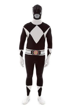 Morphsuit, Power Rangers svart