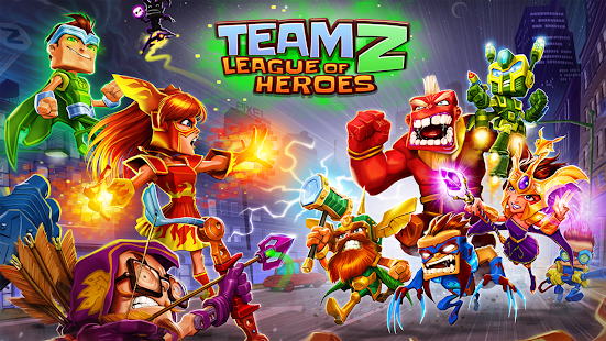 Team Z - League of Heroes Screenshot
