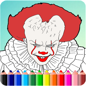 How To Color Pennywise Game (Pennywise IT )