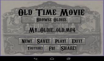 Screenshot of OldTimeMovie