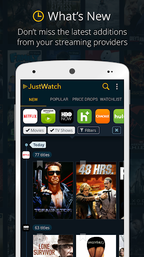 JustWatch - Search Engine for Streaming and Cinema 0.22.3 screenshots 1