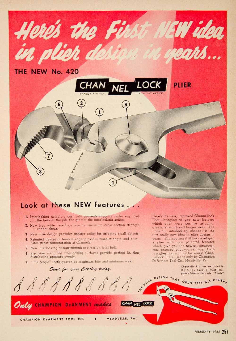 Channel Locks design