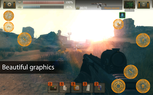 The Sun Origin: Post-apocalyptic action shooter 1.6.8 screenshots 1