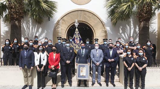 Un nuevo banderín para la Estrella de la mano de Diputación y Protección Civil