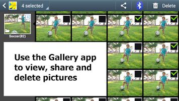 Screenshot of Burst Mode Camera