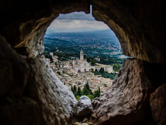 Vista D'Assisi di christiandeledda
