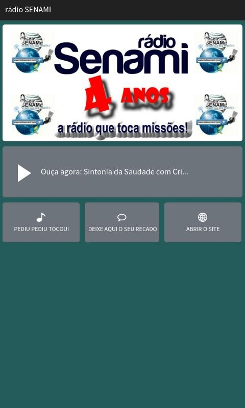 rádio SENAMI- screenshot
