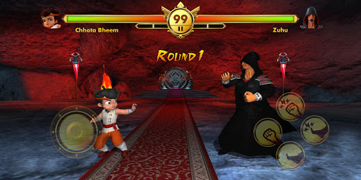 Chhota Bheem Kung Fu Dhamaka Official Game  captures d'écran 2