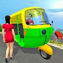 Real Tuk Tuk Rickshaw City Driver: Taxi Games 2021 icon