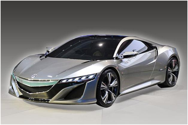 Photo: Acura NSX is the successor to the prominent NSX supercar, the concept version was revealed at the 2012 Detroit Auto Show.