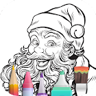 Coloring Book for Christmas icon