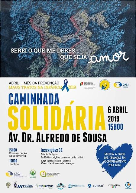 Caminhada Solidária | 6 de abril | 15 horas | Lamego