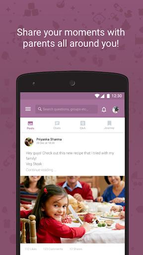 Tinystep - Pregnancy & Parenting app Screenshot