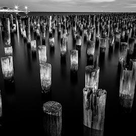 The Calm by Madhujith Venkatakrishna - Black & White Landscapes