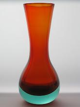 Photo: Seguso? Sommerso vase.