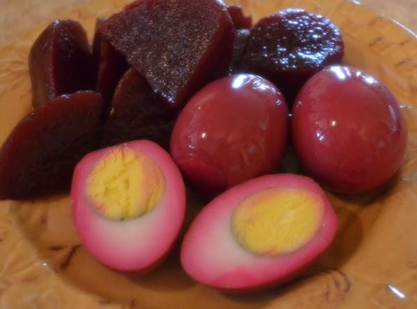 Gram's Spiced Red Beet Eggs Recipe