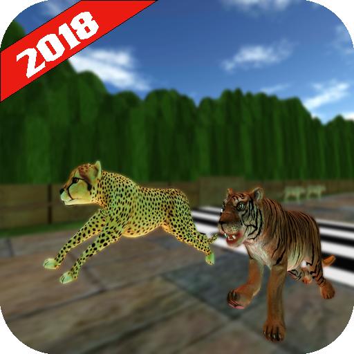 Wild Animals Racing: Racing Battle 2018