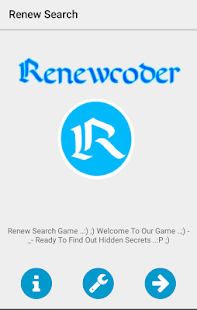 Renew search game - náhled