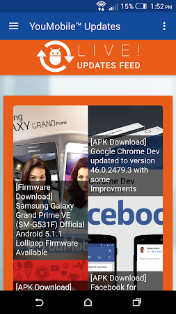 YouMobile Updates for Android™ 2.8 screenshot 329084