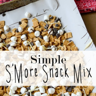 Simple S'More Snack Mix