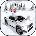 Winter Snow Pickup Truck: Gigantic Cold Hill Drive APK