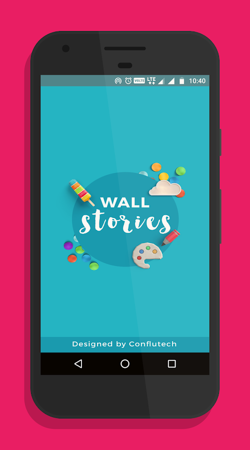 Wall Stories Creative Designs Wallpapers Android
