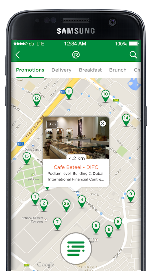 RoundMenu Restaurants Delivery- screenshot